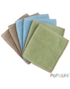 Dischetti levatrucco lavabili in cotone organico Gots - 6 pezzi