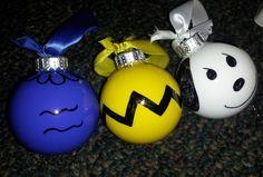 Charlie Brown Christmas Ornaments