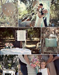 Vintage wedding theme