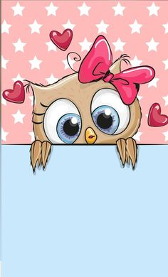 Wall paper cute owl wallpapers Ideas for 2019 Cute Owls Wallpaper, Tier Wallpaper, Animal Wallpaper, Cartoon Wallpaper, Baby Wallpaper, Owl Clip Art, Owl Art, Paper Owls, Owl Pictures