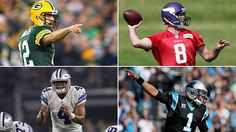 Cam Newton Aaron Rodgers poised to continue NFC dominance