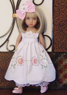 Handmade dress set made for Effner Little Darling Dolls