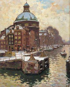 Ben Viegers – De Koepelkerk aan het Singel te Amsterdam