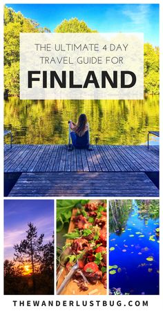 Midnight Sun in Scandinavia. The perfect 4 day Finland travel guide for getting out of Helsinki. Europe Destinations, Europe Travel Tips, European Travel, Travel Guides, Places To Travel, Holiday Destinations, Italy Travel, Finland Trip, Finland Travel