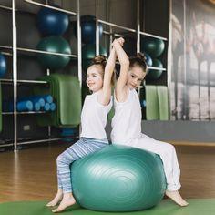 Zabawy ruchowe i gimnastyczne dla przedszkolaków - Pani Monia Pilates, Yoga, Gym Equipment, Fitness, Exercise, Children, Sports, Exercises, Health