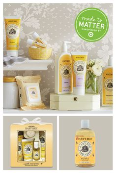 Made to Matter: Burt's Bees baby products provide a natural, gentle clean.