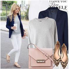 How to wear a white T-shirt . Business Casual Attire, Business Chic, Work Casual, Casual Chic, Spring Summer Fashion, Autumn Winter Fashion, Clothing Blogs, Wardrobe Basics, Capsule Wardrobe