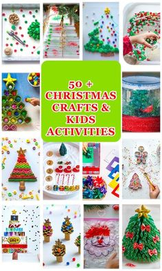 50 + Christmas Activities for toddlers, preschoolers and kindergartners! Early learning, crafts, sensory bin, numeracy and literacy invitations to play and learn! See my blog for details. #christmas #craft #diy #christmastree #kidsactivity #finemotor #homeschool #christmascraft #prek #montessoriathome #montessori #homeschool#montessorikids#sensoryplay#homeschooling#preschool#preschoolteacher#preschoolactivities#preschooler#kindergarten #kindergartenteacher#learningthroughplay Beautiful Christmas Decorations, Christmas Pasta, Christmas Crafts For Kids, Whimsical Christmas, Christmas Diy, Holiday Crafts, Simple Christmas, Christmas Games, Christmas Printables