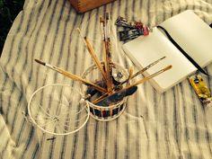 www.facebook.com/thewonderwoodstore artistic decor, styling vintage cage