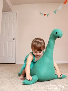 We Lived Happily Ever After: DIY Nessie | Pattern and Tutorial