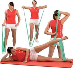 Four Resistance Band Movements
