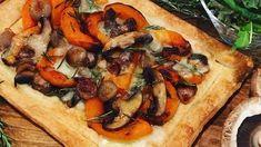 Hugh Fearnley-Whittingstall's squash, shallot and mushroom tart