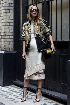 This winter, rock fringe and a gold metallic jacket. All eyes will be sure to be on you. Let DailyDressMe help you find the perfect outfit for whatever the weather!