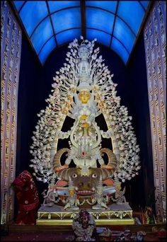Must visit Top 10 Durga Puja in Kolkata and Locations Best innovative idea Puja themes best durga idol best lighting best decoration Best Pooja pandals 2015