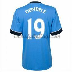 Fotbollströjor Tottenham Hotspurs 2016-17 Dembele 19 Bortatröja