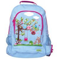 Bobble Art Woodland Canvas Backpack www.mamadoo.com.au #mamadoo #bags #kidsbackpacks