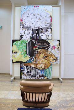 Karianne B. TELLusVISION#1 PEACE! Price? Nobel. @SINGULAR art FEST, Bucuresti, Romania 2012  www.karianne.fr