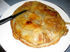 "Eating With A: ""Campfire Pie"" (Potato & Onion Tart)"