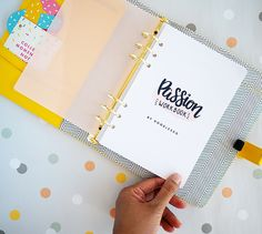 Passion Workbook by Doodlesdo - A Complete goal planning system | DESIGN IS YAY!