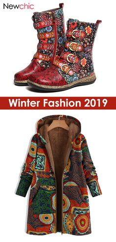 Floral Boots, New Chic, Winter Outfits Women, Kinds Of Shoes, Winter Coat, New Outfits, Style Me, Shoe Boots, Personal Style