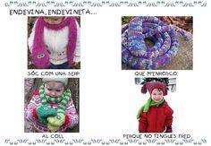 QUÉ HACEMOS HOY EN EL COLE?: ENDEVINALLES D'HIVERN I NADAL Crochet Necklace, Infants, Bts, School, Seasons Of The Year, Picasa, Winter, Xmas