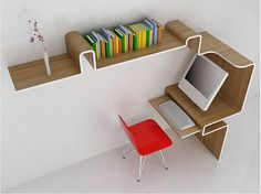 desk for Chaco! miso soup design plywood desk by ooh_food, via Flickr