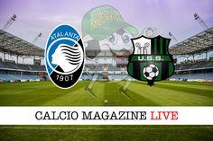 Atalanta-Sassuolo sintesi e tabellino in tempo reale della partita