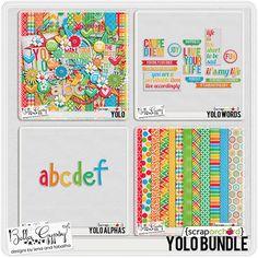 YOLO Bundle by Bella Gypsy Designs at Scrap Orchard