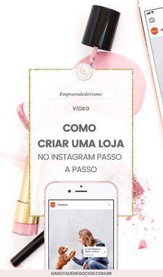 Tem vontade de criar uma loja no instagram? Nesse vídeo eu mostro o passo a passo. #instagram #lojaonline #redessociais #empreendedorismo #empreender #business