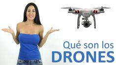 ¿Qué son los DRONES? Todo sobre los Vehículos Aéreos no tripulados (aviones, helicópteros, etc). Qué es un Drone, cómo funciona y sus sorprendentes utilidades ahora y en un futuro cercano. ¡COMPÁRTELO! (Más ↓↓↓)