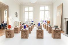 HABITAT Bag Display, Display Design, Booth Design, Store Design, Exhibition Plan, Exhibition Display, Exhibition Space, Museum Displays, Store Fixtures