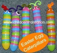 14 Fun Uses for Plastic Easter Eggs - Our Three Peas
