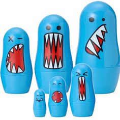 Monster nesting dolls!