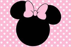 Minnie Rosa: Invitaciones, Imprimibles, Imágenes y Fondos para Imprimir Gratis.