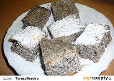Luxusní a rychlý makovník recept - TopRecepty.cz Slovak Recipes, Czech Recipes, Challah, 20 Min, Dessert Recipes, Desserts, Food And Drink, Cooking, Czech Food