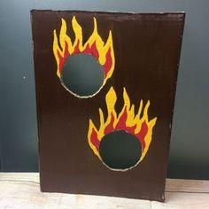 Feuerwehr Spiele Feuer-Torwand