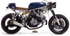 ¿Cómo comprar una Cafe Racer? Ducati 750SS Cafe Racer The Italian Sniper Maria Riding Company #motorcycles #caferacer #motos   caferacerpasion.com