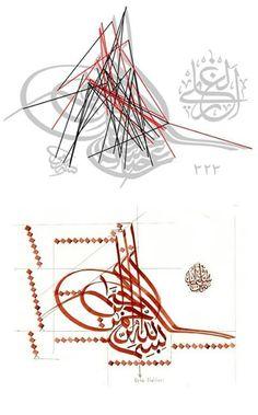 Calligraphy Lessons, Arabic Calligraphy Design, Calligraphy Alphabet, Islamic Calligraphy, Caligraphy, Teaching Art, Geometric Art, Lab, Painting