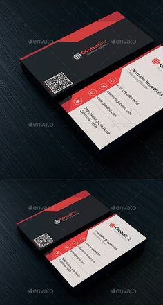 Business Card Template #print #design Download: http://graphicriver.net/item/business-card-vol-46/12016191?ref=ksioks