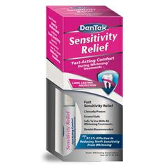 Sensitivity Relief | DenTek Oral Care