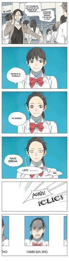 Manga Their Story - Tamen De Gushi   Capítulo 4 Página 4