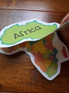 Teaching kids about the difference between continents and countries. Kindergarten Social Studies