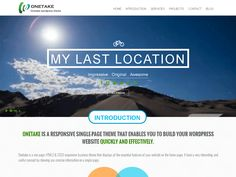 33+ Best Free One Page Parallax WordPress themes 2016