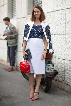 Milan Street Style Spring 2014