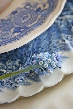 VIBEKE DESIGN: Den lille blå perle!