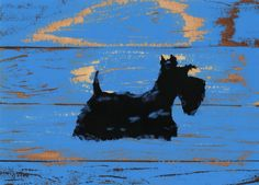 Scottie Dog Lustre Art Print Scottish Terrier by ArchyScottie on Etsy https://www.etsy.com/listing/238417371/scottie-dog-lustre-art-print-scottish