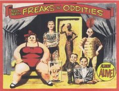 Vintage Freak Show Posters - Bing Images