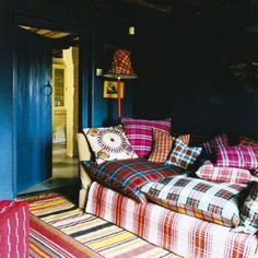 Breng tartan patronen in je interieur   roomed.nl