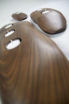 T-lights by EndGrain Furniture.