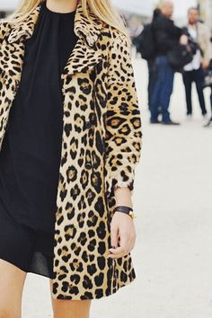 Fashion -- Autumn Style Inspirtion : Leopard Print & Cosy Cable Knits